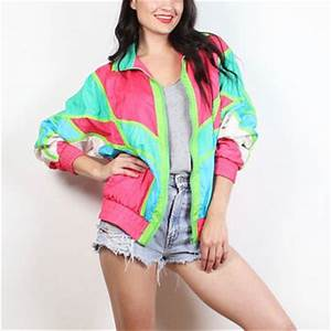 Best 80s Windbreaker Jacket Products on Wanelo