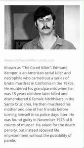 Edmund Kemper(serial killer) | Dark and Sinister ...