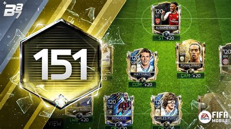 The Best Teams On Fifa Mobile! 151 Rated!  Fifa Mobile