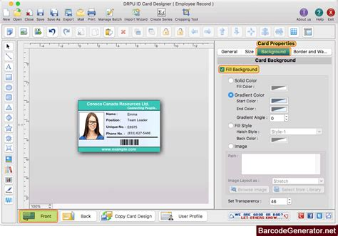 id card design  mac screenshots     design