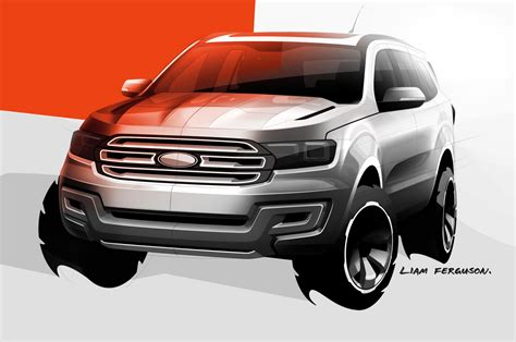 future ford ford ranger based everest concept suv debuts in australia
