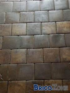 Revetement Sol Chambre : revetement sol chambre en paves de bois de bout ~ Melissatoandfro.com Idées de Décoration
