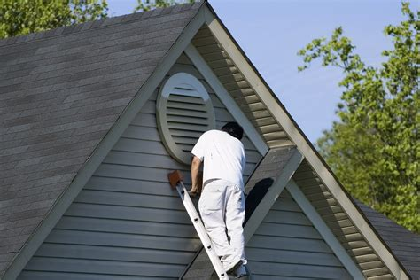 how to paint vinyl siding exterior painting asj construction