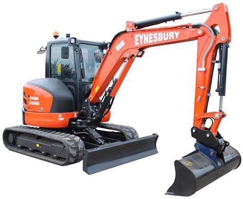 ton excavator eynesbury plant hire