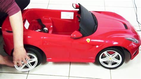 Kids Ferrari F12 Berlinetta Remote Control Ride On Toy Car