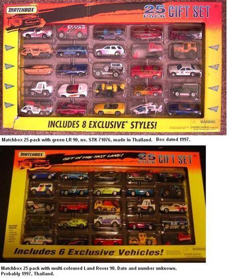 matchbox land rover models  sets
