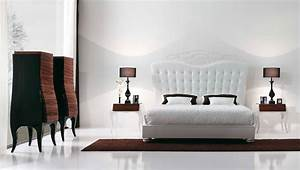 Luxury Bedroom with Beautiful White Bed by MobilFresno ...