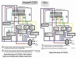 Wiring Diagram For Thermostat With Heat Pump