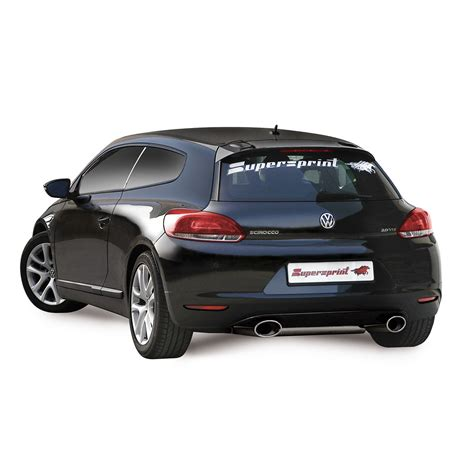 vw scirocco 2 0 tsi performance sport exhaust for vw scirocco 2 0 tsi 65 mm vw scirocco 2 0 tsi 200 hp 211 hp