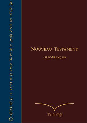 nouveau testament grec francais