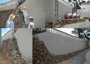 Habiller Un Mur : comment habiller un mur avec des pierres s ches pierres ~ Melissatoandfro.com Idées de Décoration