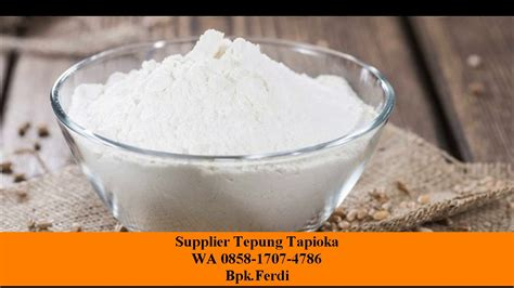 supplier tepung tapioka 085817074786 isat