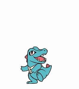 What Totodile Is Evolving Gif By Copperspy On Deviantart