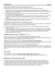 resume of a hospital ceo curriculum vitae curriculum vitae healthcare ceo
