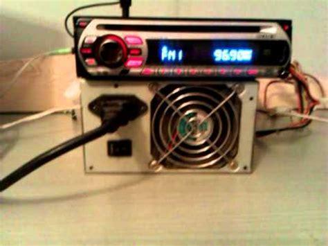 car radio sony cdx gt414u montada en casa