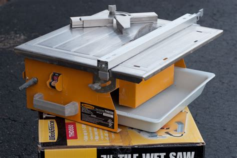 workforce thd550 wet saw for cutting tile