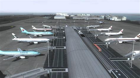 kansai airport fs2004 youtube
