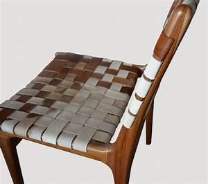 Premium Double-Backed Cowhide Chair CH00 - Andrianna Shamaris