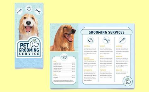 pet brochure templates psd vector eps jpg