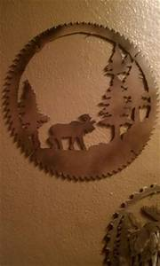 Old saw blades on Pinterest Winter Scenes, Old Cars and