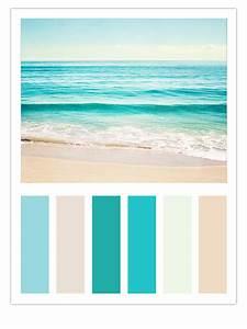Turquoise, Beach, Color, Scheme, U2013, Carolyn, Cochrane, Photography