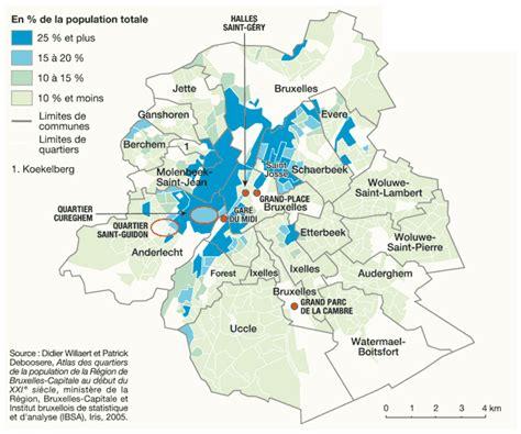 population d origine marocaine 224 bruxelles en 2005 par
