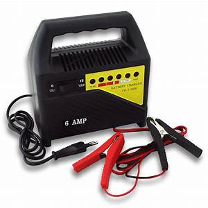 Charger Batterie Voiture : chargeur 6a de batterie moto voiture auto rapide batteries 6v et 12v 1106s ~ Medecine-chirurgie-esthetiques.com Avis de Voitures
