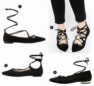 Tendance Chaussures Automne Hiver 2016 : ballerines lani res noires tendance chaussures automne ~ Melissatoandfro.com Idées de Décoration