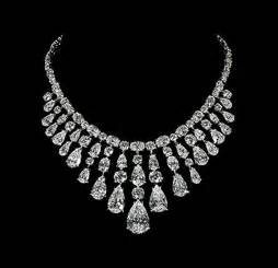 Big Diamond Necklace Jewelry