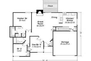 House Plans Under 1400 Square Feet