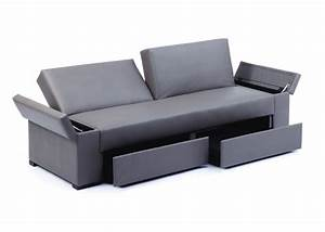 modern contemporary 3 seater adjustable sofa with storage With adjustable sectional sofa bed with storage