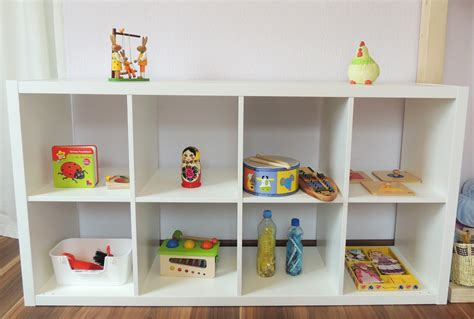 What's On Our Montessori Inspired Shelves
