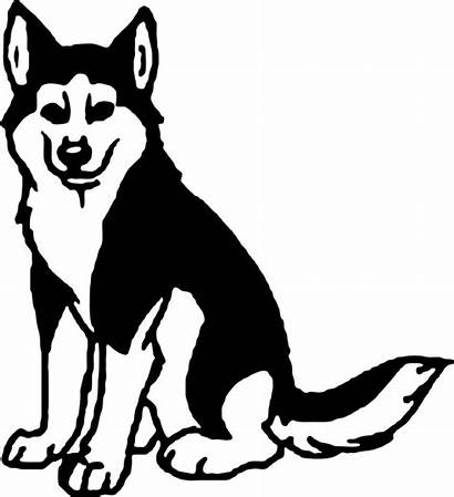 Husky Clipart Siberian Clip Transparent Huskies Cliparts