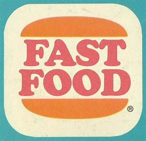 007. FAST FOOD = Retro Dining | Old school logo. | Fast ...