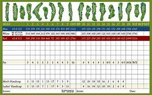 Scorecard - Cresta Verde Golf Course and Driving Range