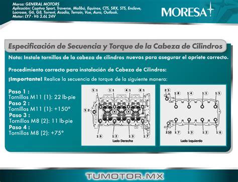 sincronizaci 243 n gm v6 3 6l 217pcd ly7 24v dohc vvt 2004 2011 tumotor mx
