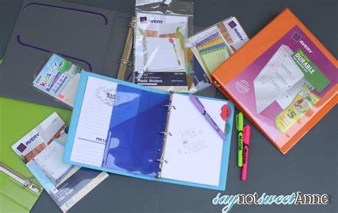 organize  school  printable notebook covers sweet