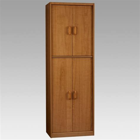 home storage cabinets with doors kitchen tall wood kitchen storage cabinet with doors for