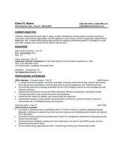 Free Resume Exles For Entry Level by 9 Entry Level Resume Exles Free Premium Templates