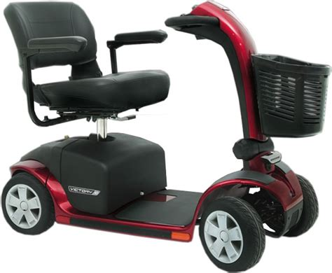 Pride Mobility 4 Wheel Victory 10 Electric Scooter