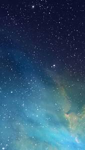 iOS 7 Nebula iPhone Wallpaper HD