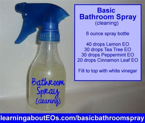 Essential Oils For Cleaning Bathroom by Pin By Ashley Clash On Essential Oils Pinterest
