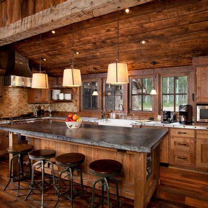 log cabin kitchen designs traditional kitchen log cabin design ideas pictures 7150