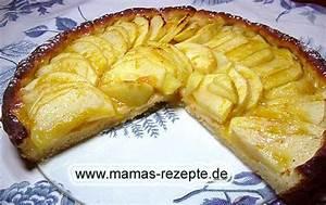 Mamas Rezepte : mamas fettarmer apfelkuchen mamas rezepte mit bild und kalorienangaben ~ Pilothousefishingboats.com Haus und Dekorationen