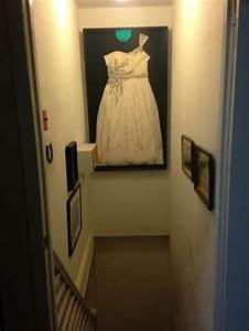 michaels framed my wedding dress in a custom shadow box i With framed wedding dress