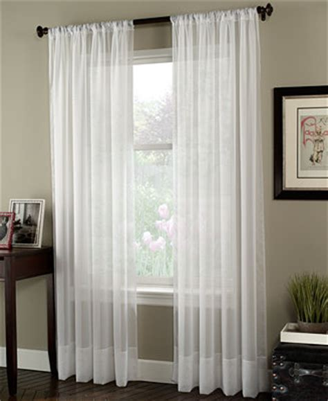 Macys Sheer Curtains Window Treatments by Chf Sheer Soho Voile Window Treatment Collection Sheer