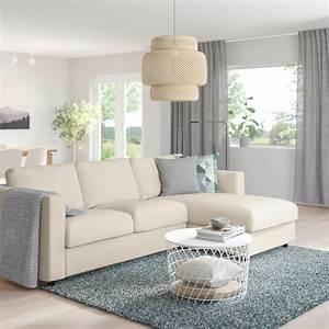 Ikea Vimle Erfahrung : vimle sofa with chaise gunnared beige ikea ~ Watch28wear.com Haus und Dekorationen