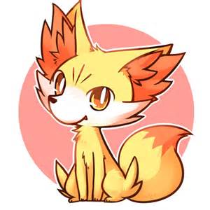 fennekin pokemon iron on sticker heat transfer v03 p