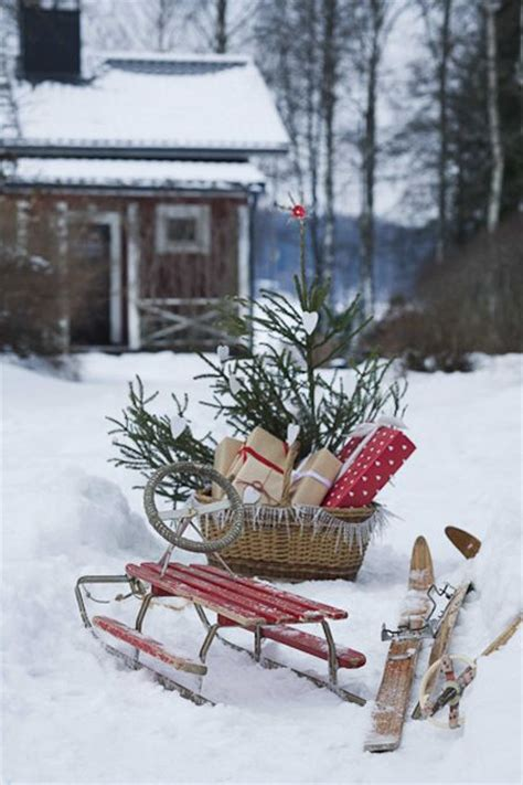 40 comfy rustic outdoor christmas d 233 cor ideas interior