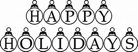 Happy Holidays Coloring Pages Printable - Coloring Home